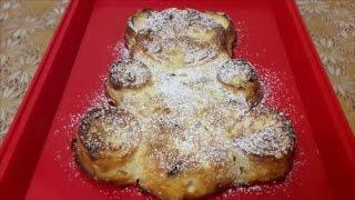 Творожный пирог Творожная запеканка с изюмом и яблоками Пирог рецепт