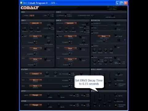Cobalt Tutorial - Part 2 Synth Bass