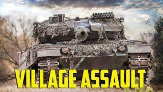 Steel Beasts - Village Assault