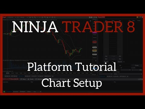 NinjaTrader 8 Beginner's Tutorial for Traders – How to Set up a Chart