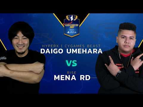 SFV: CYG BST   Daigo vs Rise   MenaRD - Capcom Cup 2017 - CPT2017
