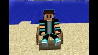 Minecraft pe nasıl oturulan koltuk yapılır ABONE OLMAYI UNUTMAYIN❤