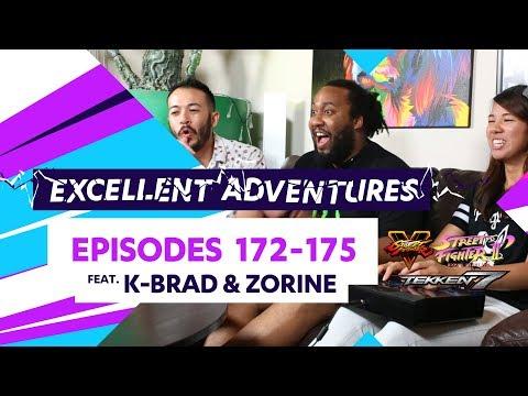 Tekken, SFV and.. Hyper Fighting?! Excellent Adventures ft. K-Brad & Zorine #172-175 OUT NOW!