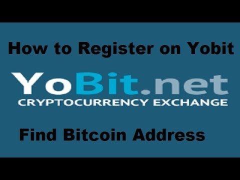 Yobit – How to Sign Up/Registration |Best Crypto Currency trading website|How to get Bitcoin address
