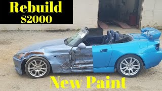 Rebuilding a Wrecked Honda S2000 from Copart part 2
