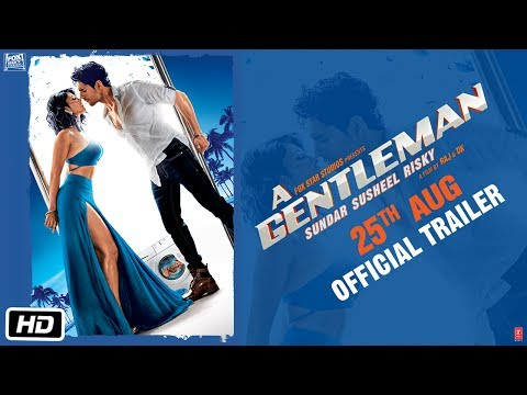A GENTLEMAN  Sundar, Susheel, Risky   Trailer  Sidharth  Jacqueline  Raj & DK