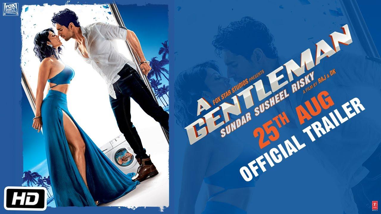 A GENTLEMAN - Sundar, Susheel, Risky | Official Trailer | Sidharth | Jacqueline | Raj & DK