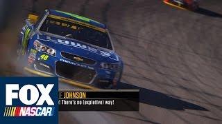 Radioactive: Chicago - No! No! Theres no [expletive] way! - NASCAR Race Hub