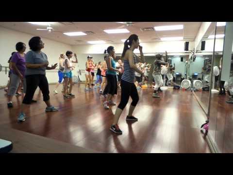 Zumba with a magic mike Chinese choreo