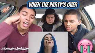 Billie Eilish - when the party's over (MUSIC VIDEO) REACTION REVIEW