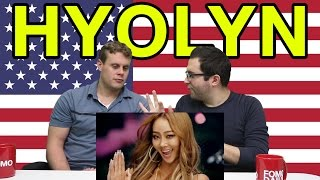 "Americans React to Hyolyn ""Paradise"""