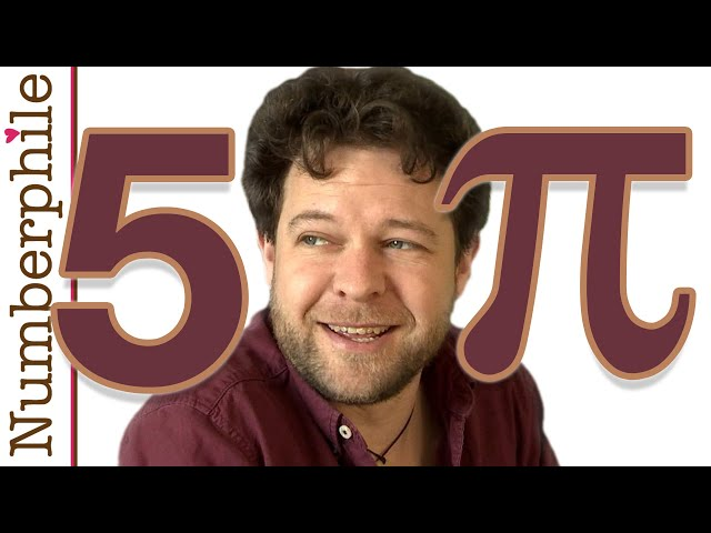 A Surprising Pi and 5 - Numberphile