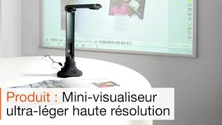 Le mini visualiseur autofocus pliable SpeechiCam 6