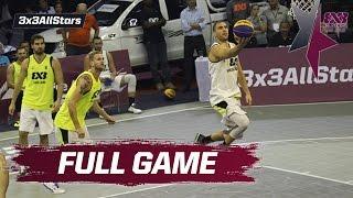 Novi Sad Al Wahda v Ljubljana - Final Full Game - 2016 FIBA 3x3 All Stars