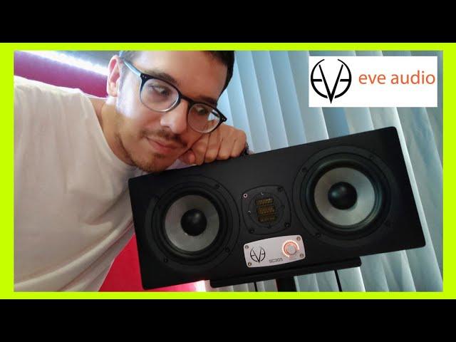 MIS NUEVOS MONITORES DE ESTUDIO PROFESIONAL | Eve Audio sc305