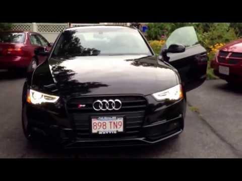 My new 2014 Audi S5