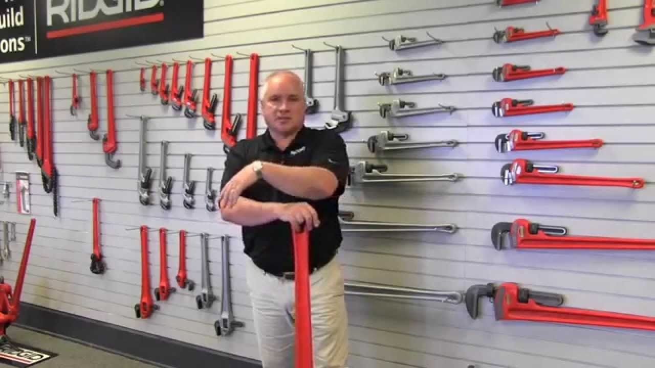 sc 1 st  YouTube & Ridgid pipe wrench product line - Made in USA - YouTube