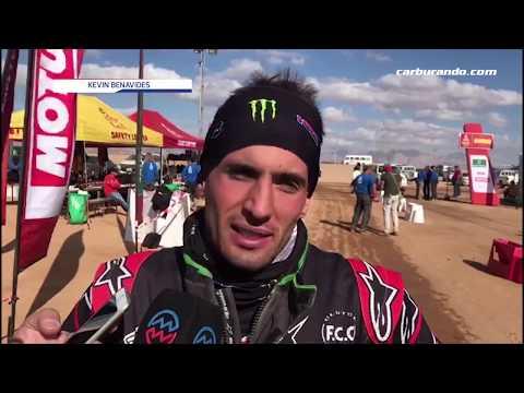Kevin Benavides subió al segundo lugar en la general de motos en el Dakar