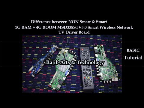 China Universal Smart Tv /LCD Screen Board MSD338STV5.0 Android Basic Introduction