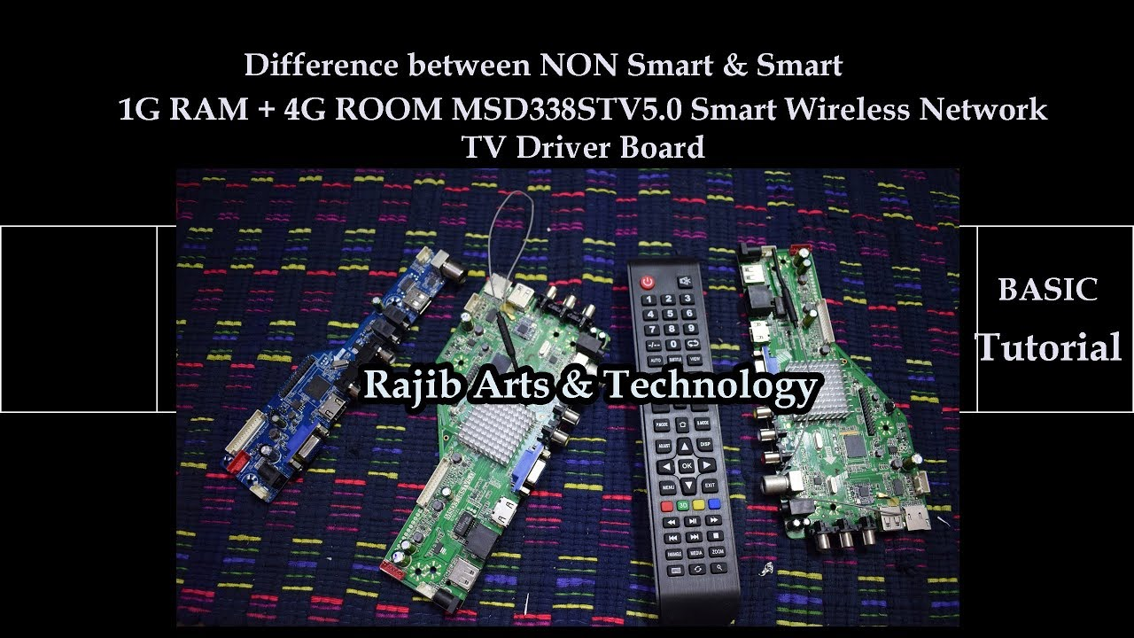 China universal Smart Tv /LCD screen Board MSD338STV5 0 Android Basic  Introduction