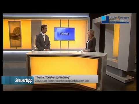 Existenzgründung - Steuerberater Aachen Köln Jörg Reimer bei Center TV