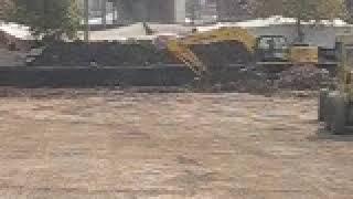 Ünye Spor Salonu İnşaatı zemin dolgu 21 10 2009 3