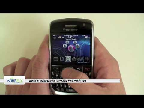BlackBerry Curve 8900 Review -- Hands-on