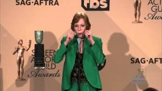 Carol Burnett SAG Awards Press Room