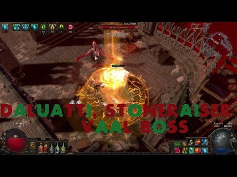 Path of Exile : Daluatti, Stoneraiser Vaal Boss & Area Where to find him