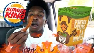JALAPENO CHICKEN FRIES BURGER KING TASTE TEST