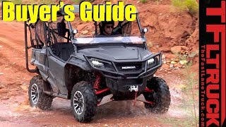 Watch This Before You Buy a Honda Pioneer 4x4 UTV