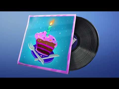 Fortnite Birthday Music Pack (Audio)