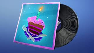 Fortnite Birthday Music Pack (Audio)