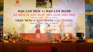 Nhắn tuổi 20 (live) - CLB Guitar Đại Học Đại Nam