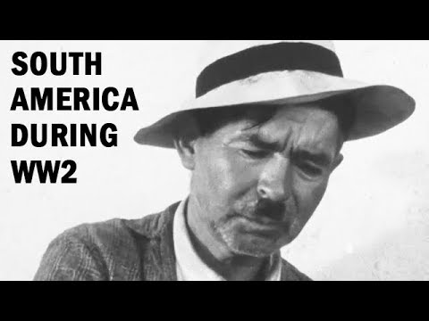 South America During World War 2 | Foreign Policy Association Documentary | 1944