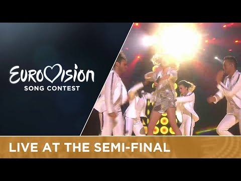 Laura Tesoro - What's The Pressure (Belgium) Live at Semi-Final 2