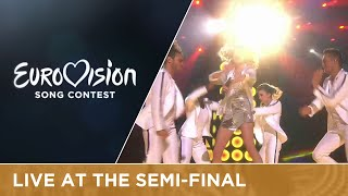 Laura Tesoro - What's The Pressure (Belgium) Live at Semi-Final 2(Add or Download the song to your own playlist: https://ESC2016.lnk.to/Eurovision2016QV Download the karaoke version here: ..., 2016-05-12T20:38:56.000Z)