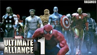 Marvel Ultimate Alliance [PC-Steam] walkthrough part 1