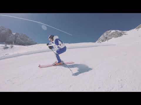 Skifahren am Dachstein