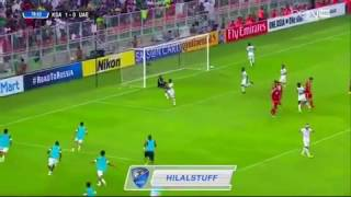 شاهد.. نواف العابد يضيف الهدف الثاني للسعودية في الإمارات