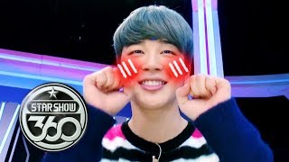 Jimin Claims the he isn't Cute. But He's a Natural Cutie!!! [Star Show 360 Ep 8] Video
