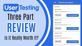 UserTesting Review: How Hard is It to Get Jobs?