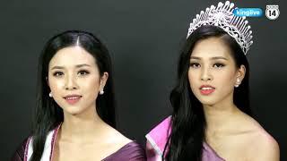 Bất ngờ với khả năng nói tiếng anh của Tân Hoa Hậu Việt Nam 2018 và Á Hậu 1 Việt Nam 2018
