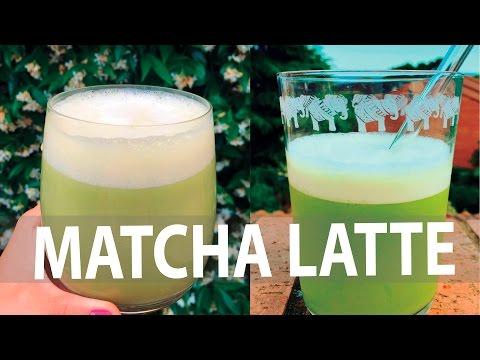Delicioso MATCHA LATTE - Frío y Caliente