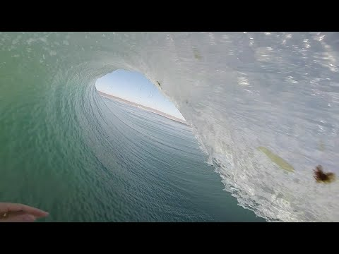 Surfing Tubes in San Diego