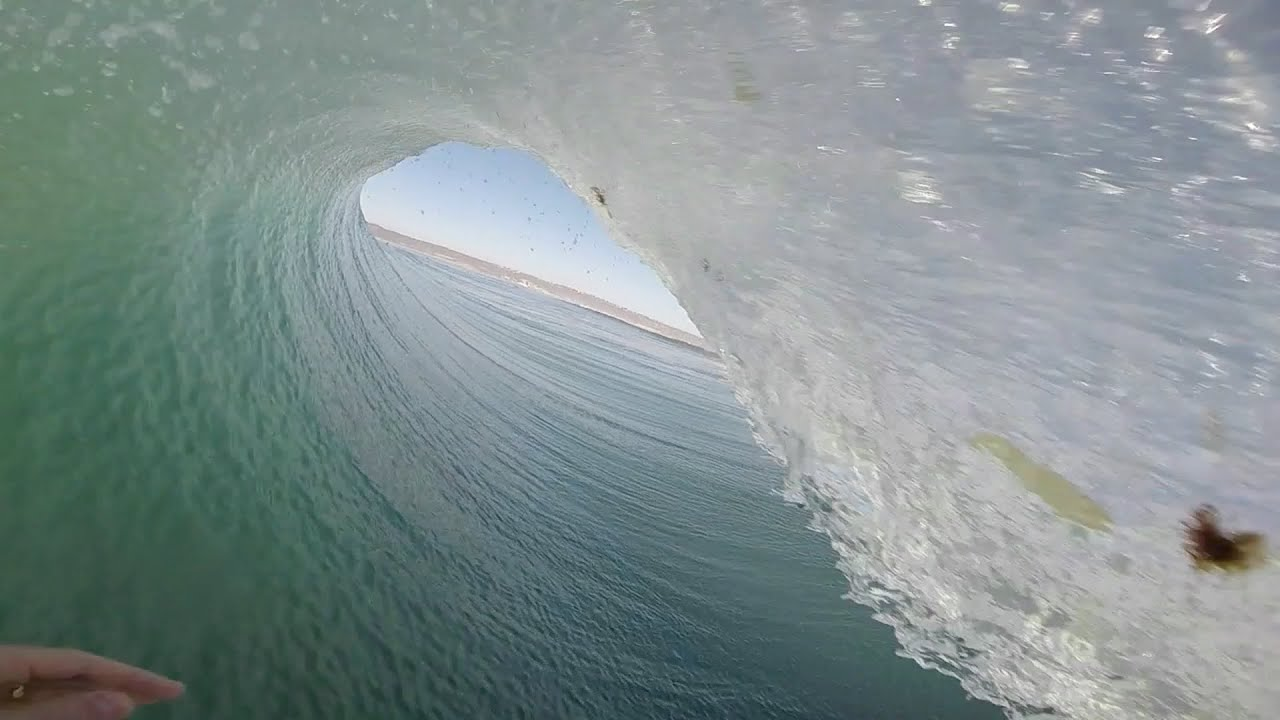 Surfer un tube