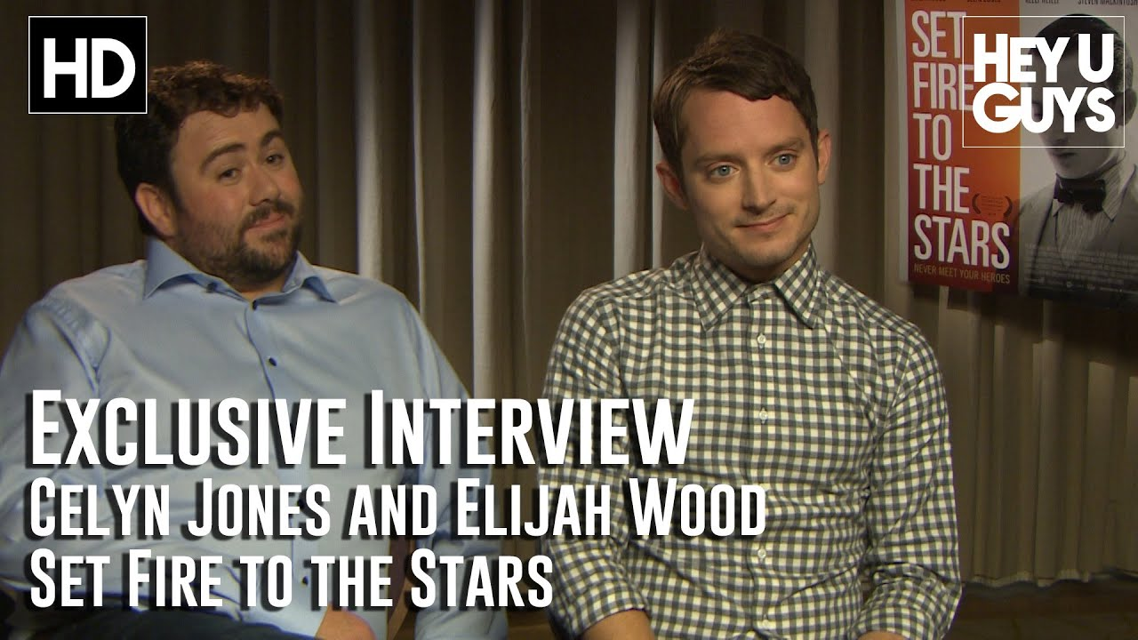 Elijah Wood and Celyn ...