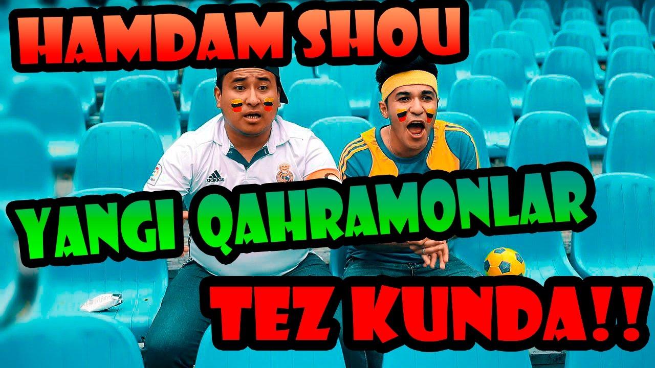 Ham Dam SHOU 5-soni (Yangi qahramonlar) (anons) | Хам Дам ШОУ 5-сони (Янги кахрамонлар) (анонс)