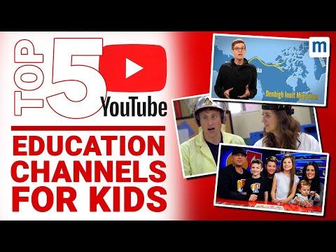 Best YouTube Channels For Educating Children