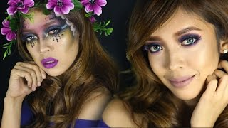 Violets are Blue Makeup | Collab with MsLaviniaful